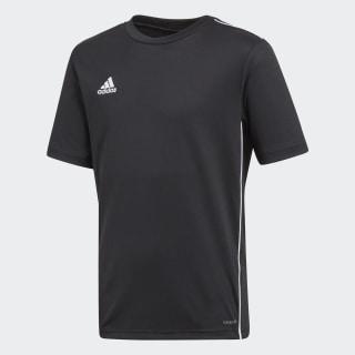 Camiseta entrenamiento Core 18 Black / White CE9020