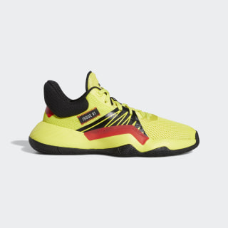 Zapatilla D.O.N. Issue #1 Team Solar Yellow / Core Black / Active Red EH2435