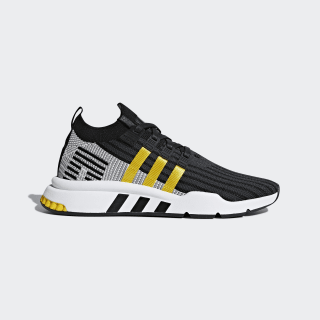 EQT Support Mid ADV Primeknit Shoes Core Black / Eqt Yellow / Cloud White CQ2999