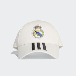 Gorra Real Madrid 3 bandas Core White / Black CY5600