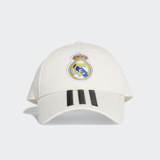 Real Madrid 3-Stripes Hat Core White / Black CY5600