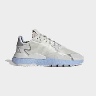 Chaussure Nite Jogger Off White / Off White / Glow Blue EE5910