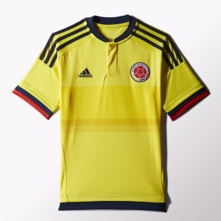 Camiseta Selección Colombia Niño Home BRIGHT YELLOW/COLLEGIATE NAVY M62782