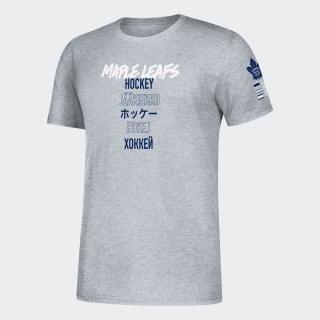 T-shirt Maple Leafs Global Game Nhl-Tml-522 / Medium Grey Heather EK1570