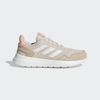 รองเท้า Archivo Linen / Cloud White / Glow Pink EF0452