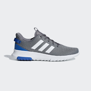 Cloudfoam Racer TR Shoes Grey Four / Cloud White / Blue B43642