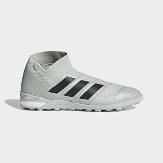 Calzado de fútbol Nemeziz Tango 18+ Césped artificial Ash Silver / Core Black / Running White DB2465