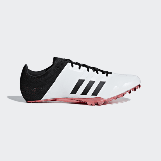 Zapatilla de clavos Adizero Finesse Ftwr White / Core Black / Shock Red B37488