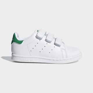 Stan Smith Schuh Footwear White / Footwear White / Green BZ0520