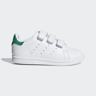 Stan Smith Shoes Cloud White / Cloud White / Green BZ0520