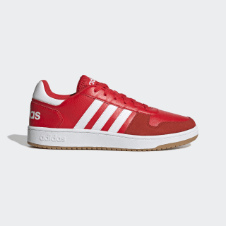 Кроссовки Hoops 2.0 active red / ftwr white / gum 3 EE7798