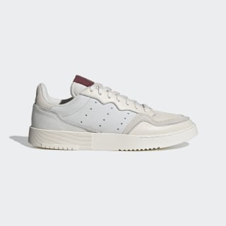 Supercourt Shoes Chalk White / Chalk White / Collegiate Burgundy EF5868