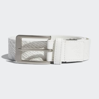 ADI TEXT BELT White DT2318