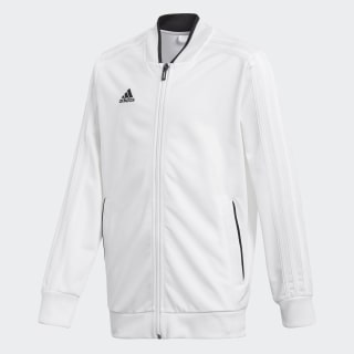 Condivo 18 Jacket White / Black CF4340
