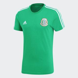 Playera 3 Franjas México Green / White CF0527