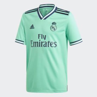 Camiseta tercera equipación Real Madrid Hi-Res Green DX8917