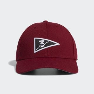Golf Flag Hat Collegiate Burgundy FL7658