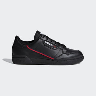 Кроссовки Continental 80 core black / scarlet / collegiate navy F99786