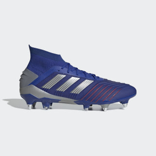 Zapatillas de Fútbol Predator 19.1 Terreno Suave Bold Blue / Silver Metallic / Football Blue BC0312