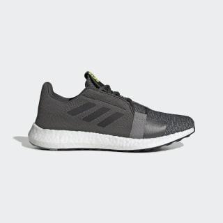 Chaussure Senseboost Go Grey Six / Core Black / Solar Yellow EF1581