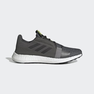 Senseboost Go Shoes Grey Six / Core Black / Solar Yellow EF1581
