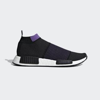 NMD_CS1 Primeknit Shoes Core Black / Carbon / Active Purple G28196
