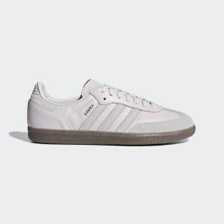 Samba OG Shoes Orchid Tint / Grey / Gold Metallic BD7533