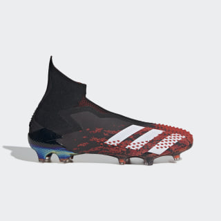Bota de fútbol Predator Mutator 20+ césped natural seco Core Black / Cloud White / Active Red EF1565