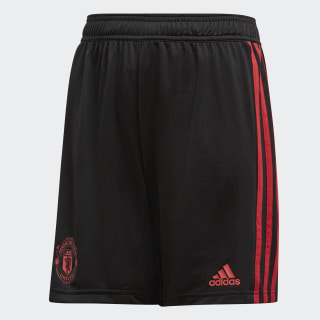 Manchester United Träningsshorts Black / Blaze Red / Core Pink CW7602