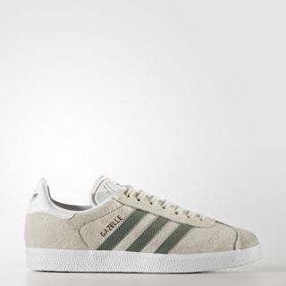 Chaussure Gazelle Beige/Pearl Grey/Trace Green/Footwear White BY9361
