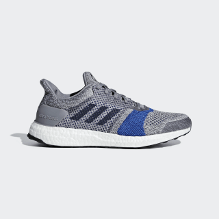 Zapatilla Ultraboost ST Grey / Raw White / Legend Ink B37697