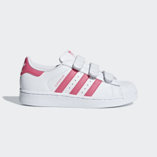 Superstar Shoes Cloud White / Real Pink / Real Pink CG6621