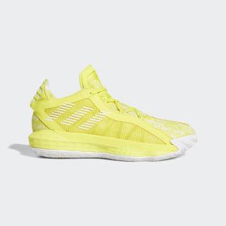 Dame 6 Shoes Shock Yellow / Cloud White / Shock Yellow EH2073