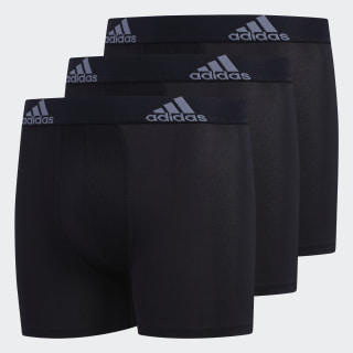 Perforated Climalite Boxer Briefs 3 Pairs Black CL5898