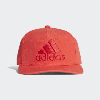 Gorra H90 Logo HI-RES RED S18/HI-RES RED S18/SCARLET CF4873