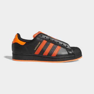 Кроссовки Superstar Laceless Core Black / Team Orange / Solar Orange FV3021