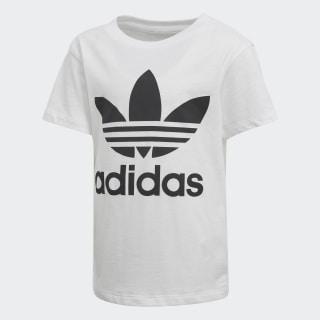 Camiseta Trefoil WHITE/BLACK D98852
