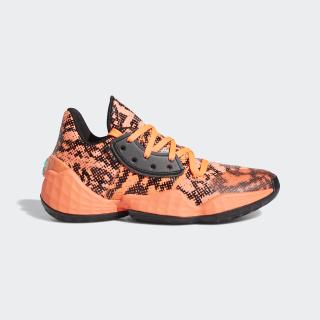 Harden Vol. 4 Shoes Signal Coral / Core Black / Signal Coral EF9944