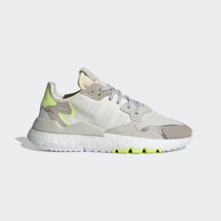 Кроссовки Nite Jogger off white / ftwr white / hi-res yellow CG6098