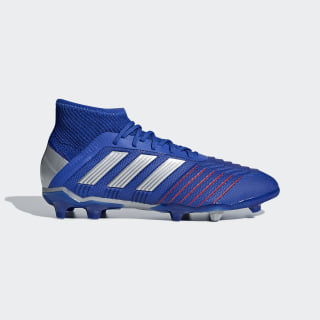 Chaussure Predator 19.1 Firm Terrain souple Bold Blue / Silver Metallic / Football Blue CM8530