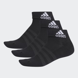 Cushioned Ankle Socken, 3 Paar Black / Black / Black DZ9379