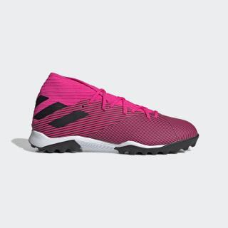 Футбольные бутсы Nemeziz 19.3 TF shock pink / core black / shock pink F34426