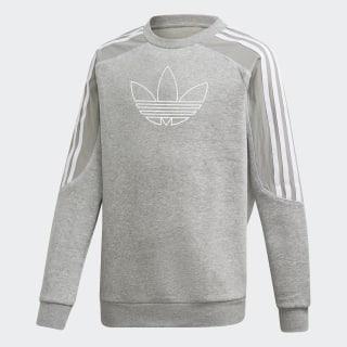 Radkin Sweatshirt Medium Grey Heather / White DW3862