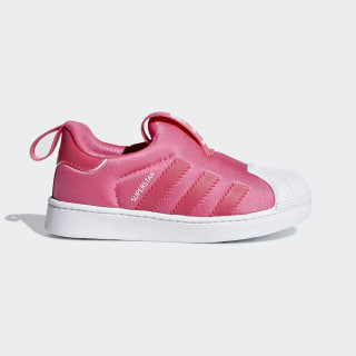 Superstar 360 Shoes Real Pink / Real Pink / Cloud White F97623