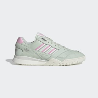 Chaussure A.R. Trainer Linen Green / True Pink / Off White D98156