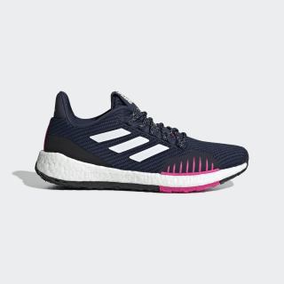 Pulseboost HD Winter Shoes Collegiate Navy / Cloud White / Shock Pink FU7328