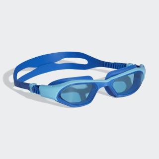 adidas persistar 180 unmirrored çocuk yüzücü gözlüğü Bright Cyan / Blue / Shock Lime DH4514