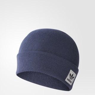 Шапка-бини Logo trace blue f17 BR2754