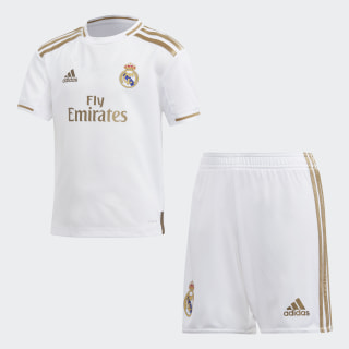 Mini kit Real Madrid Domicile White DX8843