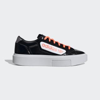 adidas Sleek Super Shoes Core Black / Signal Coral / Crystal White EF4954
